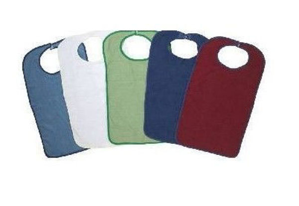 Picture of CLOTHING PROTECTOR - VELCRO CLOSE, SAGE COLOUR