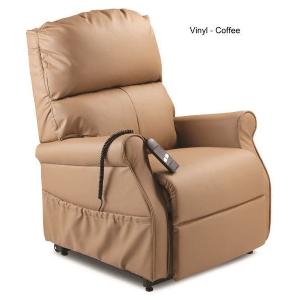 Picture of MONARCH LIFT CHAIR - SINGLE MOTOR, COFFEE VINYL