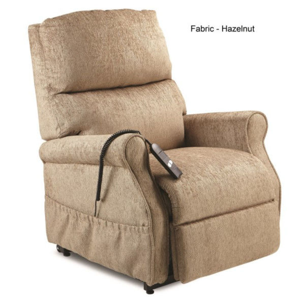 Picture of MONARCH LIFT CHAIR - SINGLE MOTOR, HAZELNUT VINYL