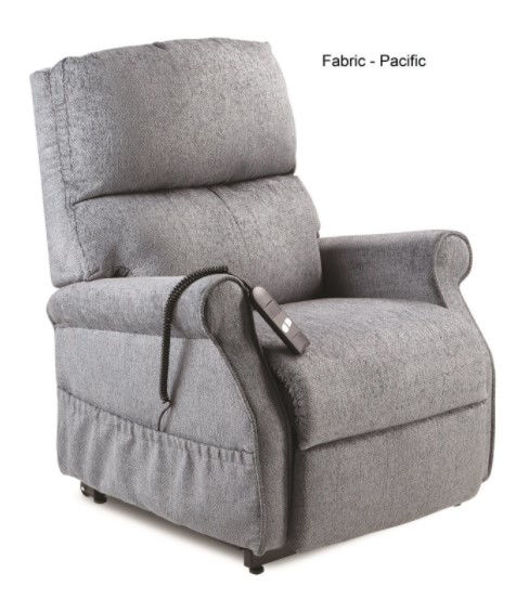 Picture of MONARCH LIFT CHAIR - SINGLE MOTOR, PACIFIC FABRIC