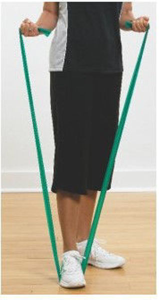 Picture of Thera Band Green - Heavy Resistance, 1.5 metres